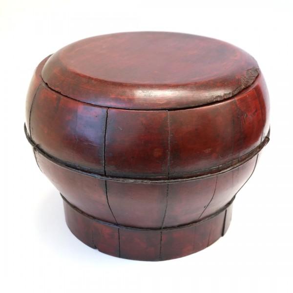 Scatola in legno laccato