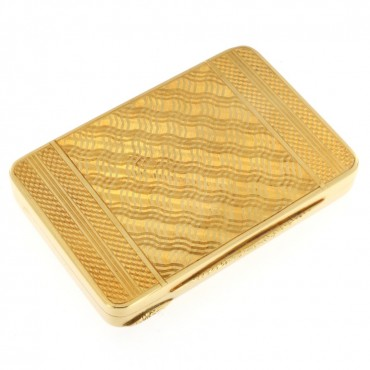 Gold Snuff Box