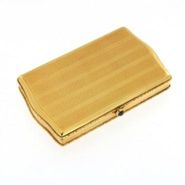 Tabacchiera oro
