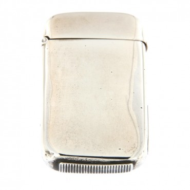 silver cigarette lighter box