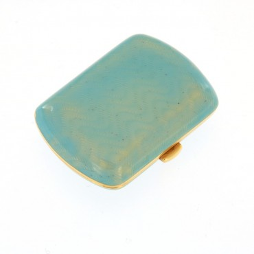 Gold enamelled Snuff Box