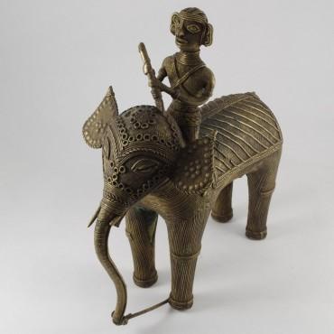Statuetta in bronzo dell'Orissa