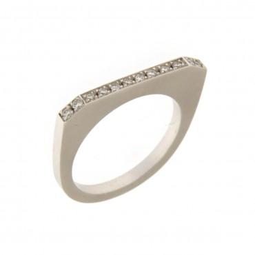 anello oro bianco