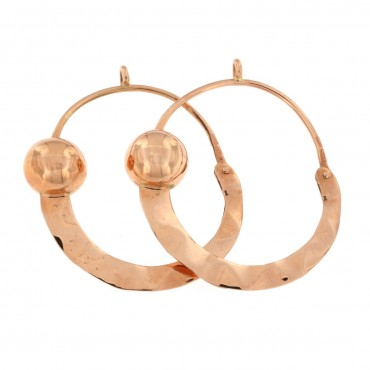 Traditional Valtellina gold earrings
