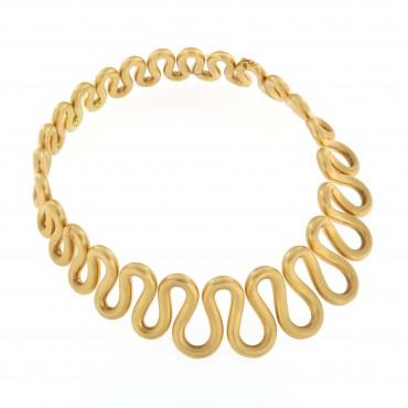 Girocollo oro opaco 18 Kt