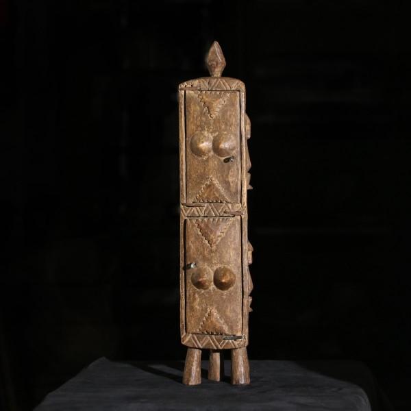 statuetta dogon in bronzo