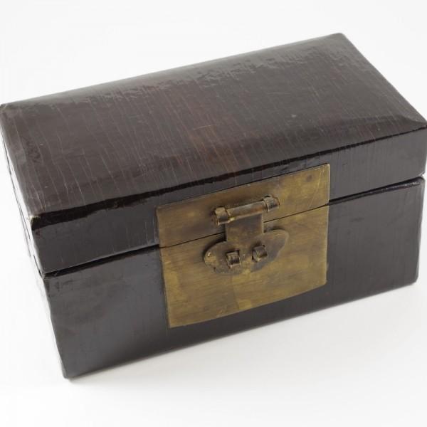 Scatoletta legno laccato