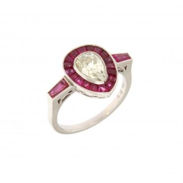 anello rubini