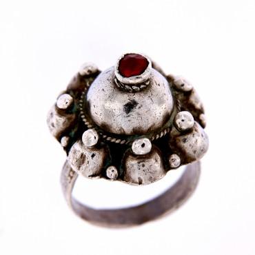 Anello argento Rajasthan