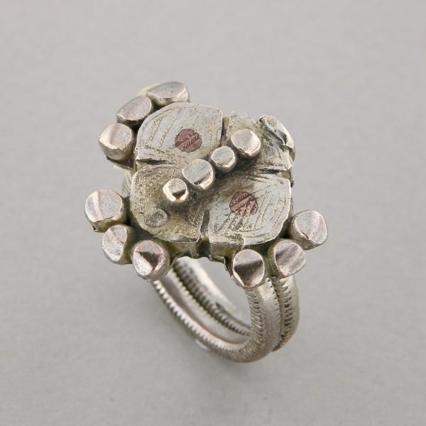 Azerbaijan silver ring